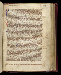 Marginal Sketches, In A Volume Of Treatises On Natural Science, Philosophy, And Mathematics f.94r